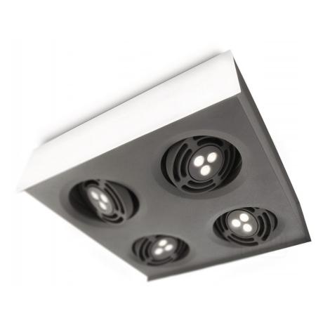 Philips 57986/31/16 - LED Stropní svítidlo INSTYLE RADAR 4xLED/6W/230V