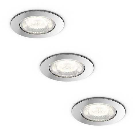 Philips 59007/11/P0 - SADA 3x LED podhledové svítidlo DREAMINESS 3xLED/4,5W