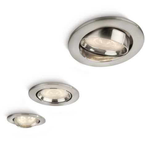 Philips 59030/17/16 - SADA 3x LED podhledové svítidlo MYLIVING ELLIPSE 1xLED/3W