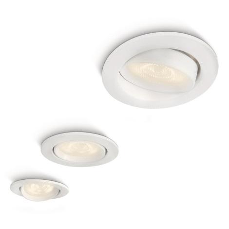 Philips 59030/31/16 - SADA 3x LED podhledové svítidlo MYLIVING ELLIPSE 1xLED/3W/230V