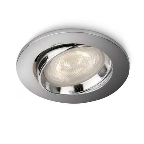 Philips 59031/11/16 - LED Bodové zápustné světlo MYLIVING ELLIPSE 1xLED/4W chrom