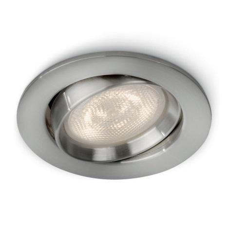 Philips 59031/17/16 - LED Bodové zápustné svítidlo MYLIVING ELLIPSE 1xLED/4W/230V matný chrom