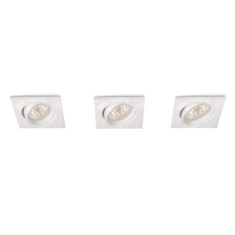 Philips 59080/31/16 - SADA 3x LED podhledové svítidlo MYLIVING GALILEO 1xLED/3W