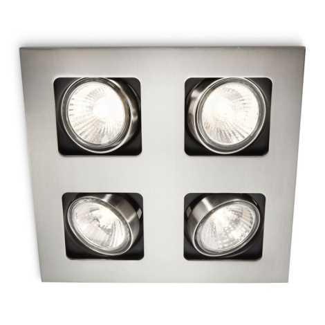 Philips 59304/17/16 - LED koupelnové podhledové svítidlo ARTEMIS 4xLED-GU10/10W + 4xGU10/50W/230V