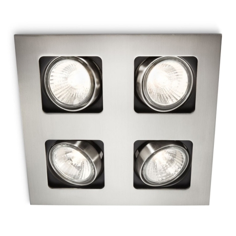 Philips 59304/17/16 - LED koupelnové podhledové svítidlo MYLIVING ARTEMIS 4xLED/4W