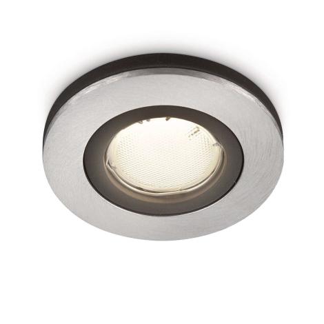 Philips 59655/48/16 - Koupelnové podhledové svítidlo MYLIVING CORONA 1xGU10/10W/230V