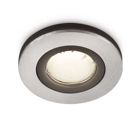 Philips 59655/48/16 - Koupelnové podhledové svítidlo MYLIVING CORONA 1xGU10/10W