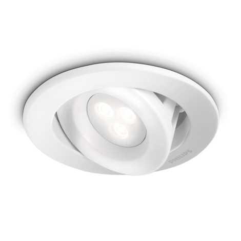 Philips 59855/31/16 - Koupelnové podhledové svítidlo MYLIVING CARNET 1xLED/7,5W