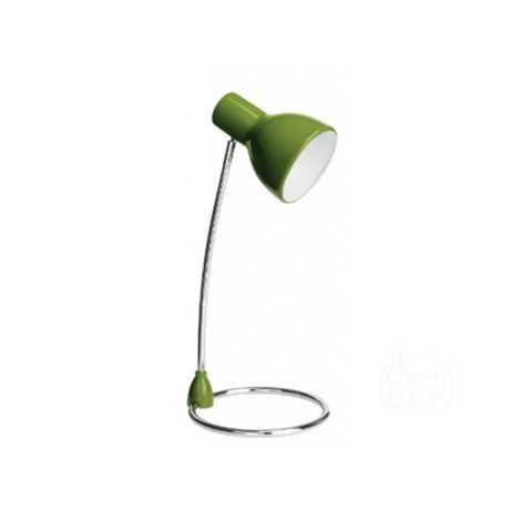 Philips 67204/33/16 - Stolní lampa SONG zelená 1xE27/15W/230V
