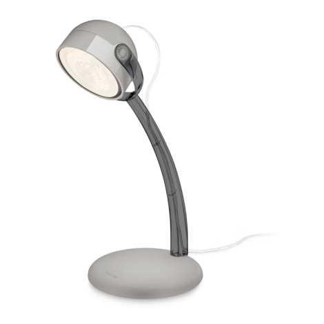 Philips 67413/99/16 - LED Stolní lampa MYLIVING DYNA 1xLED/4W/230V šedá