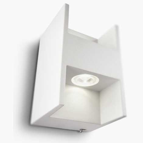 Philips 69087/31/16 - Nástěnné svítidlo s vypínačem LEDINO LED/2,5W/230V