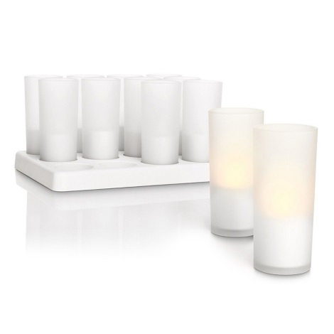 Philips 69133/60/PH - Dekorativní LED svíčky CANDLE LIGHTS (sada 12ks.) 1xLED/1W/230V