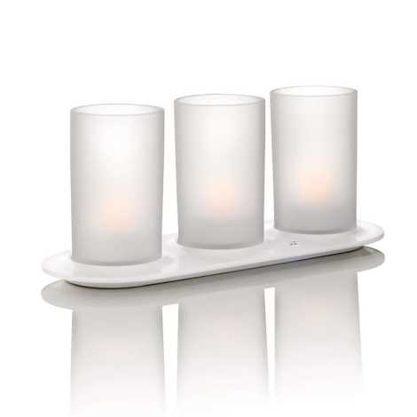 Philips 69185/60/PH - SADA 3x LED svíčka NATURELLE 3xLED/0,5W/230V
