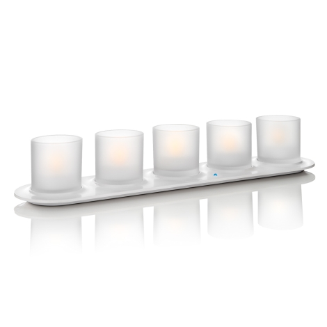 Philips 69188/60/PH - 5xSADA LED svíčka CANDLELIGHTS 5xLED/0,5W