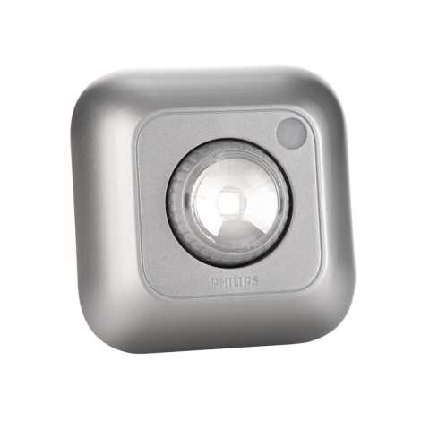 Philips 69191/14/PH - LED orientační svítidlo SPOTON 360 1xLED/0,5W/3xAAA