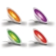 Philips 70998/60/PH - LED Asztali lámpa LIVINGCOLORS AURA 1xLED/8W/230V