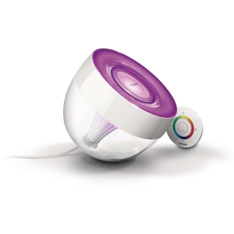 Philips 70999/60/PH - LED Stolní lampa LIVINGCOLORS IRIS 1xLED/10W/230V čirá