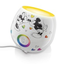 Philips 71703/55/16 - LED dětská lampa LIVINGCOLORS MINI MICKEY & MINNIE MOUSE LED/7,5W/230V