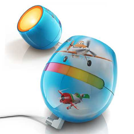 Philips 71704/53/26 - LED dětská lampa LIVINGCOLORS MICRO DISNEY PLANES LED/4,7W