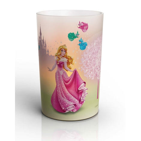 Philips 71711/25/16 - LED Stolní lampa CANDLES DISNEY SLEEPING BEAUTY LED/1,5W