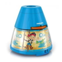Philips 71769/05/16 - LED Dětský projektor DISNEY JAKE PIRATE 1xLED/0,1W + 3xLED/0,3W/4,5V