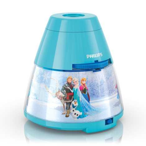 Philips 71769/08/16 - Dětský projektor DISNEY FROZEN LED/0,1W/3xAA