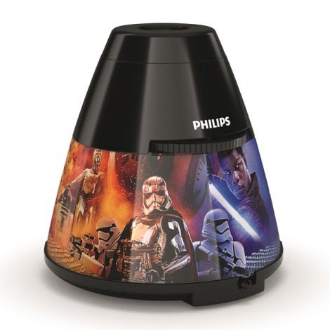 Philips 71769/30/P0 - LED Dětský projektor DISNEY STAR WARS LED/0,1W/3xAA