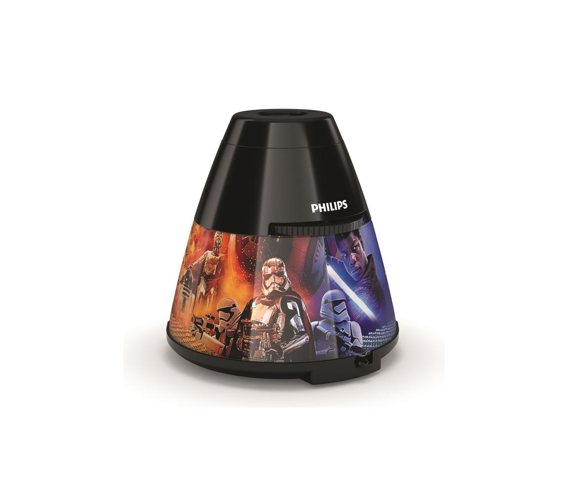 Philips 71769/30/P0 - LED dětský projektor STAR WARS LED/0,1W/3xAA