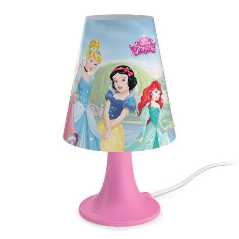 Philips 71795/28/16 - Dětská stolní lampa DISNEY PRINCESS LED/2,3W/230V