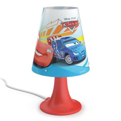Philips 71795/32/16 - Dětská stolní lampa DISNEY CARS LED/2,3W/230V