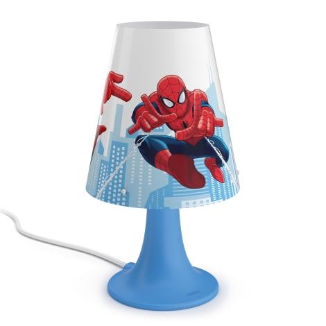 Philips 71795/40/16 - LED Dětská stolní lampa MARVEL SPIDER MAN LED/2,3W/230V