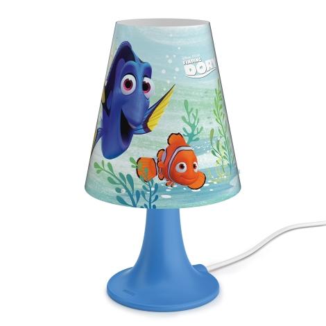 Philips 71795/90/16 - Dětská stolní lampa DISNEY FINDING DORY LED/2,3W/230V