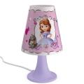 Philips 71795/96/16 - LED Dětská stolní lampa DISNEY SOFIA 1xLED/2,3W/230V