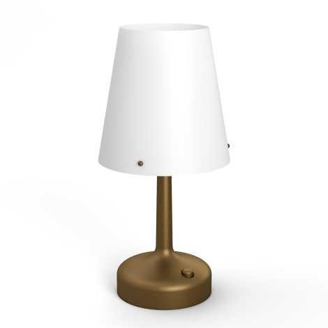 Philips 71796/06/P0 - Přenosná stolní lampa MYLIVING LED/0,6W/3xAA
