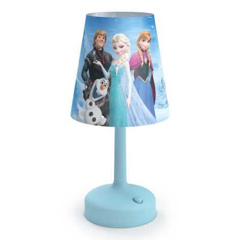 Philips 71796/08/16 - Dětská stolní lampa DISNEY FROZEN LED/0,6W/3xAA