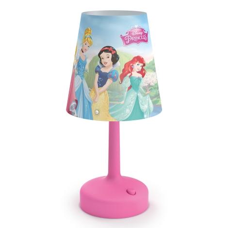 Philips 71796/28/16 - Dětská stolní lampa DISNEY PRINCESS LED/0,6W/3xAA