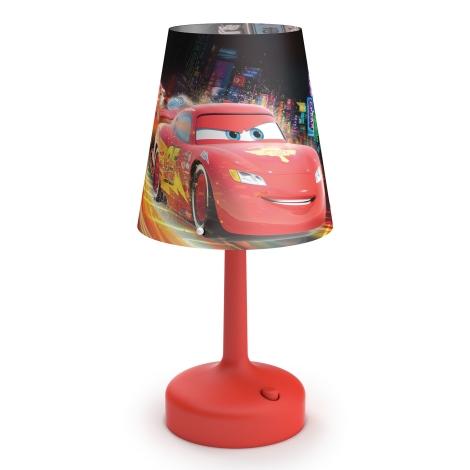 Philips 71796/32/16 - Dětská stolní lampa DISNEY CARS LED/0,6W/3xAA