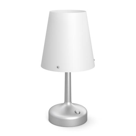 Philips 71796/48/P0 - Přenosná stolní lampa MYLIVING LED/0,6W/3xAA