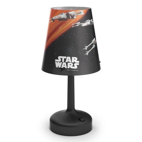 Philips 71888/30/16 - Dětská stolní lampa STAR WARS SPACESHIPS 1xLED/0,57W/3xAA