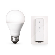 Philips 8718696452523 - LED Žárovka stmívatelná HUE WIRELESS DIMMING KIT 1xE27/9,5W/230V