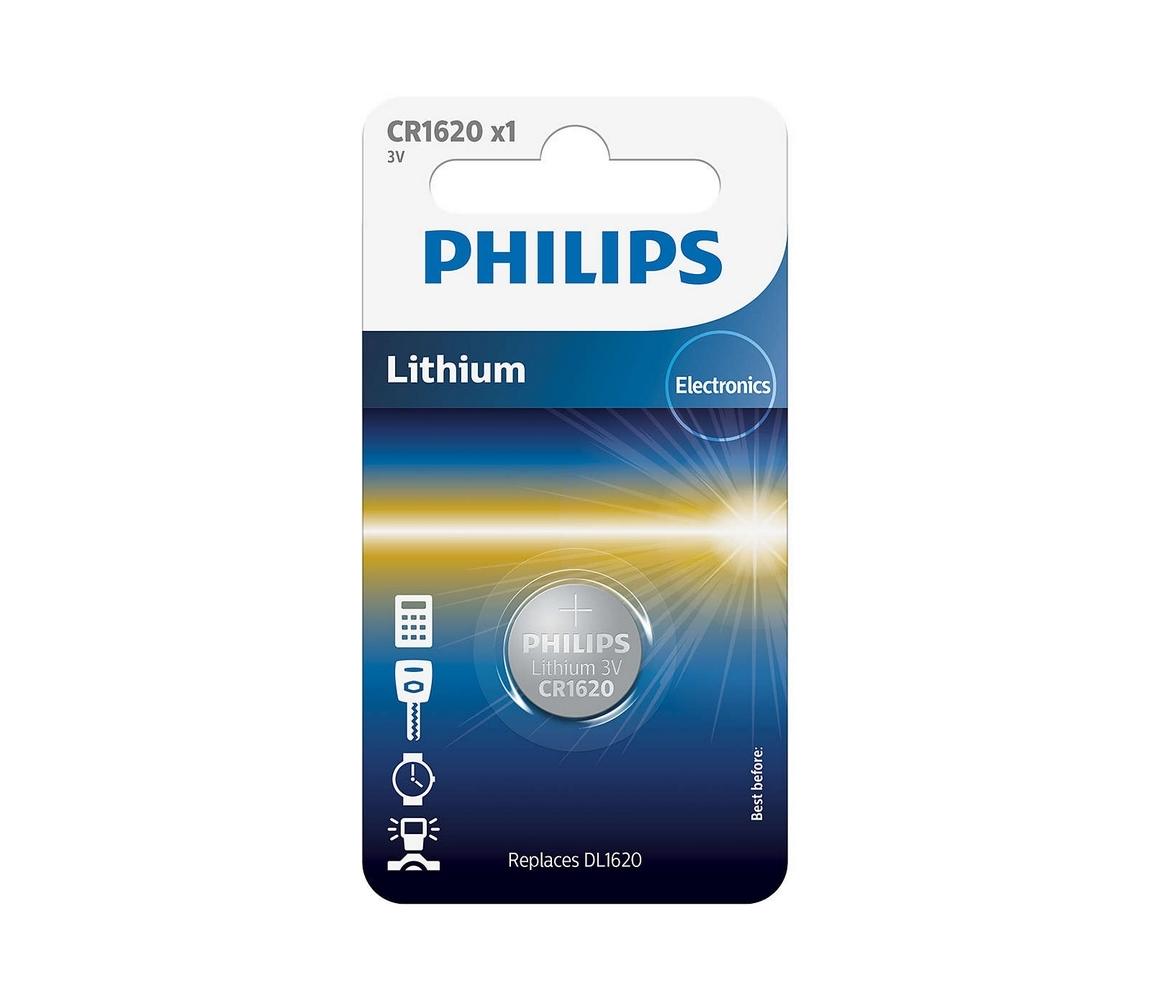 Baterie Philips CR1620 1ks