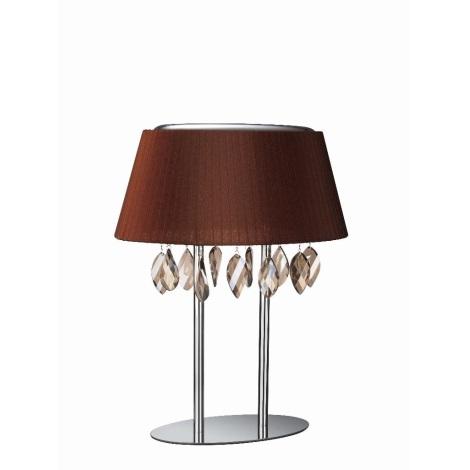 Philips Eseo 37899/43/13 - Stolní lampa RAMOS 3xE14/40W/230V hnědá