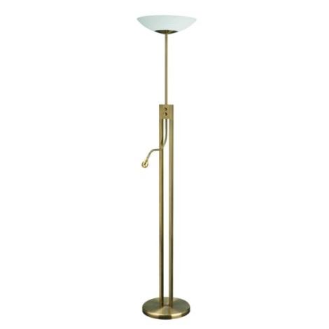 Philips Eseo 42233/06/13 - LED Stmívatelná stojací lampa VIDAL 1xT5/55W+1xLED/2,5W