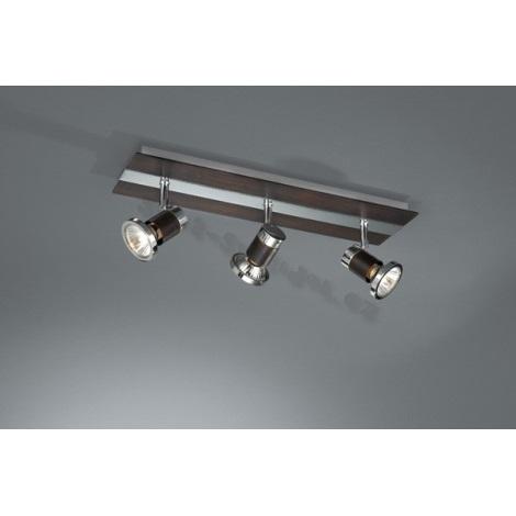 Philips Eseo 55423/11/13 - Bodové svítidlo NANO 3xGU10/50W chrom