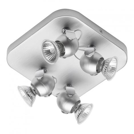 Philips Eseo 55554/48/13 - bodové svítidlo MINHO 4xGU10/50W hliník