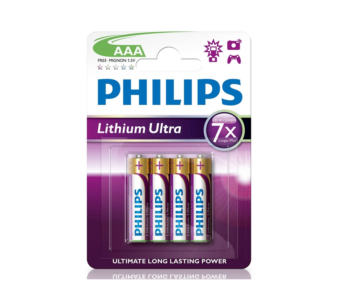 Baterie Philips Ultra AAA 4ks
