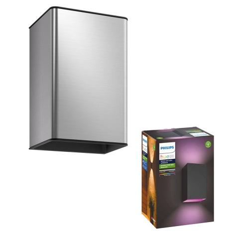 Philips - LED RGB Venkovní svítidlo 2xLED/8W/230V IP44
