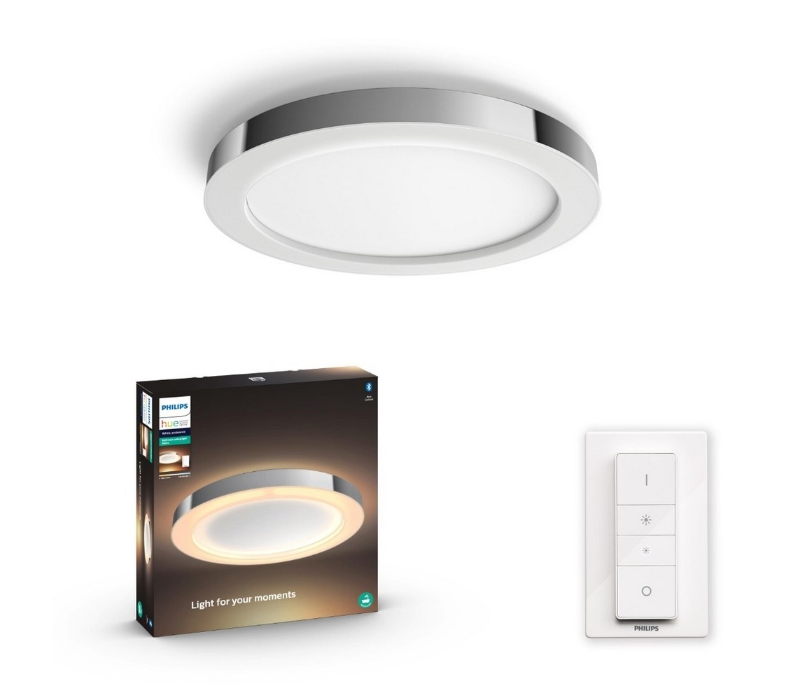 Philips Philips - LED Stmívatelné koupelnové svítidlo HUE ADORE LED/40W/230V + DO P3782