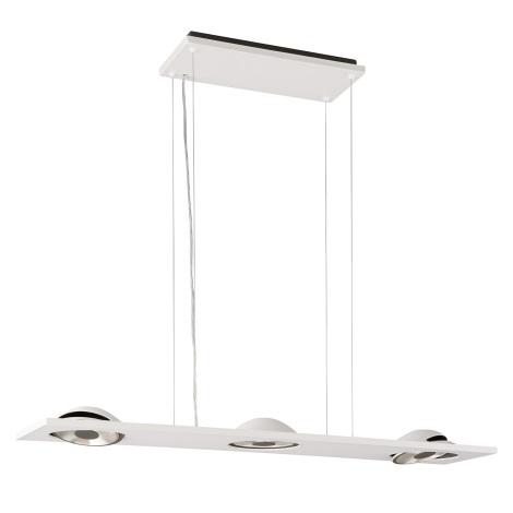Philips Lirio 37095/31/LI - LED Závěsné svítidlo TRELOME 3xLED/15W bílá