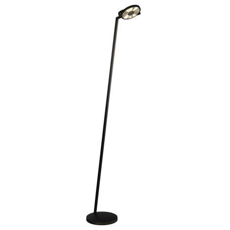 Philips Lirio 42250/30/LI - LED Stmívatelná stojací lampa ERON 1xLED/15W černá